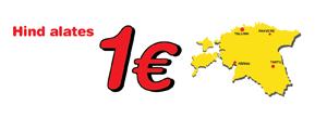 Piletid alates 1 €